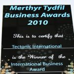 Tectonic Receives Another International Business Award
